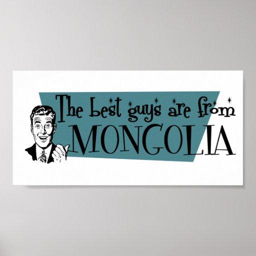 Los mejores individuos son de Mongolia Impresiones