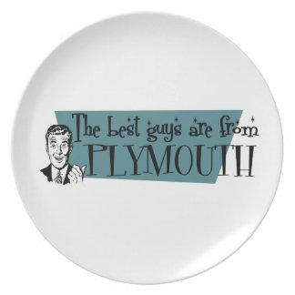 Los mejores individuos son de Plymouth Plato De Comida