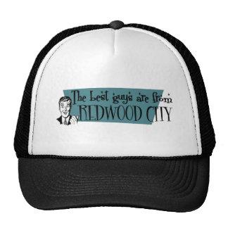Los mejores individuos son de Redwood City Gorras