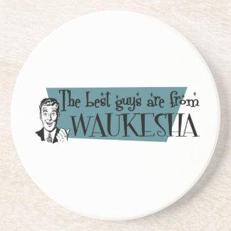 Los mejores individuos son de Waukesha Posavasos Personalizados