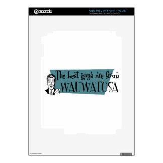 Los mejores individuos son de Wauwatosa iPad 3 Pegatinas Skins