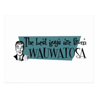 Los mejores individuos son de Wauwatosa Tarjetas Postales
