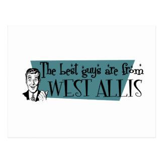 Los mejores individuos son de West Allis Postal