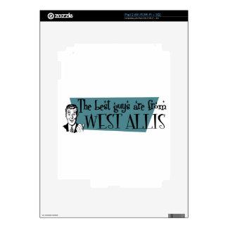 Los mejores individuos son de West Allis Skin Para El iPad 2