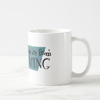 Los mejores individuos son de Wyoming Tazas De Café