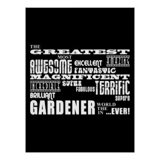 Los mejores jardineros El jardinero más grande Impresiones