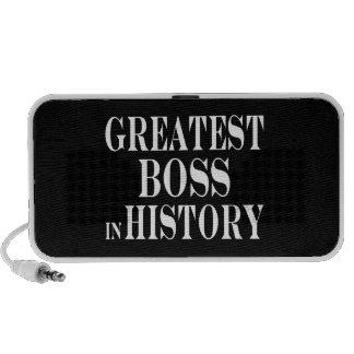 Los mejores jefes: Boss más grande en historia Altavoces De Viaje