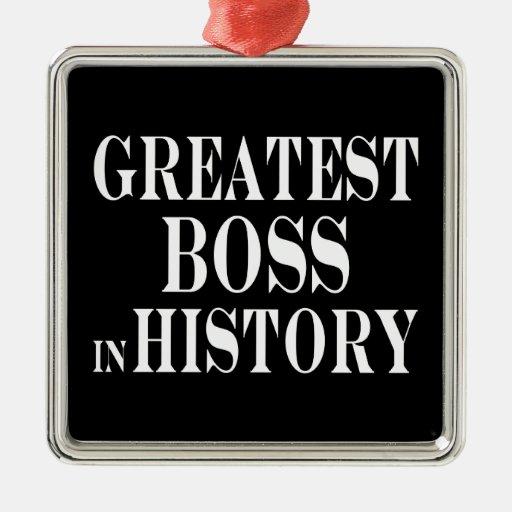 Los mejores jefes: Boss más grande en historia Ornamento De Navidad
