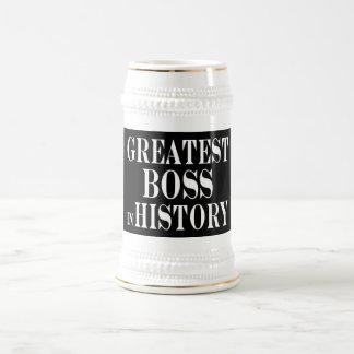 Los mejores jefes: Boss más grande en historia Jarra De Cerveza