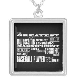 Los mejores jugadores de béisbol: El jugador de bé Colgantes