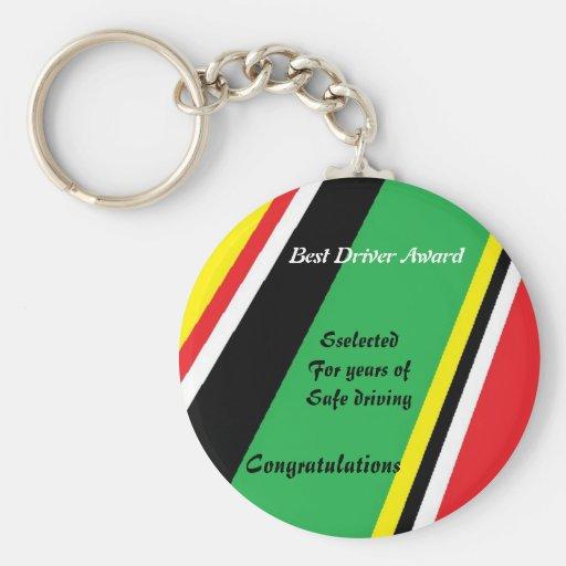 Los mejores llaveros del premio del conductor
