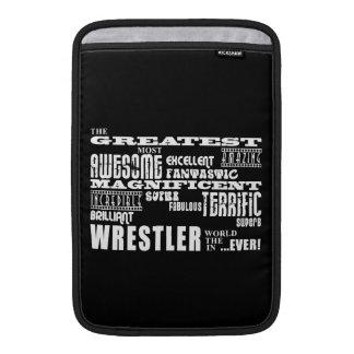 Los mejores luchadores: El luchador más grande Fundas MacBook