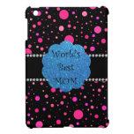 Los mejores lunares del rosa de la mamá del mundo iPad mini coberturas