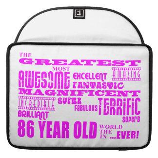 Los mejores ochenta y seis chicas 86 años más gra