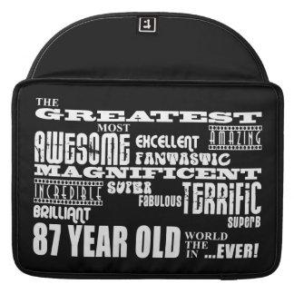 Los mejores ochenta y siete años más grandes de lo