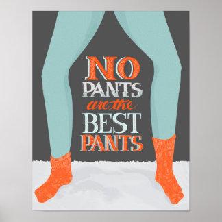 los mejores pantalones póster