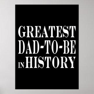 Los mejores papás a ser el papá más grande a estar poster