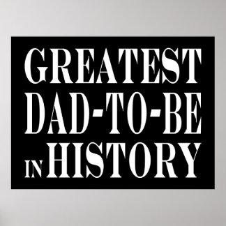 Los mejores papás a ser el papá más grande a estar impresiones