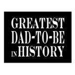 Los mejores papás a ser el papá más grande a estar postal