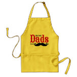 Los mejores papás tienen delantal de los bigotes