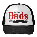 Los mejores papás tienen gorra de los bigotes