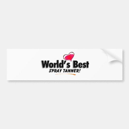 Los mejores productos de Tanner del aerosol del mu Etiqueta De Parachoque