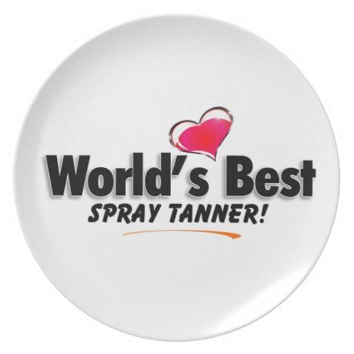 Los mejores productos de Tanner del aerosol del mu Platos