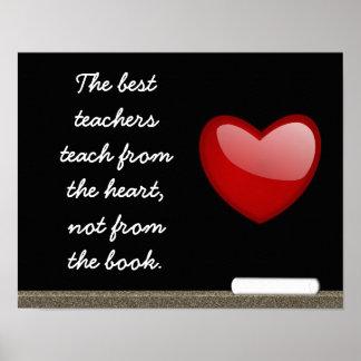 Los mejores profesores - impresión del arte