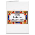 Los mejores profesores son 2dos profesores del gra tarjeton