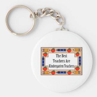 Los mejores profesores son maestros de jardín de i llavero personalizado