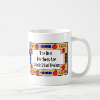 Los mejores profesores son profesores de escuela taza clásica