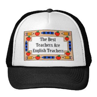 Los mejores profesores son profesores de inglés gorro de camionero