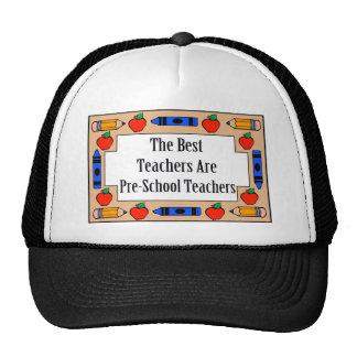 Los mejores profesores son profesores del preescol gorro