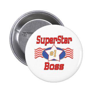 Los mejores regalos de Boss del mundo Pin