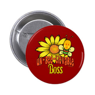 Los mejores regalos de Boss Pin Redondo De 2 Pulgadas