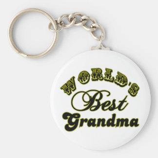 Los mejores regalos de la abuela del mundo y ropa  llaveros personalizados