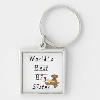 Los mejores regalos de la hermana grande del mundo llaveros