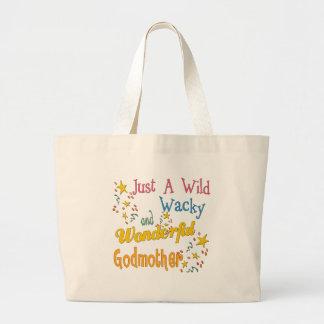 Los mejores regalos de la madrina bolsas lienzo