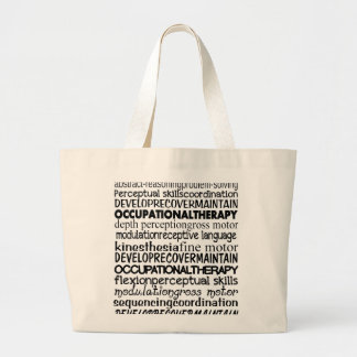 Los mejores regalos de la terapia profesional bolsa tela grande