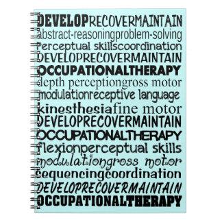 Los mejores regalos de la terapia profesional note book