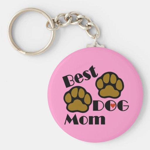 Los mejores regalos del amante del perro de la mam llavero