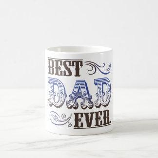 Los mejores regalos del día de padre del papá nunc tazas de café