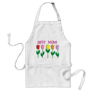 Los mejores regalos del diseño de los tulipanes de delantal