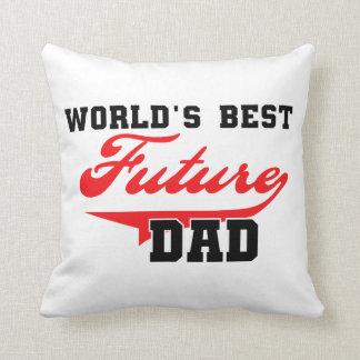Los mejores regalos futuros del papá del mundo almohadas