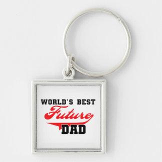 Los mejores regalos futuros del papá del mundo llavero personalizado