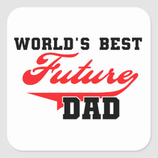 Los mejores regalos futuros del papá del mundo colcomanias cuadradases
