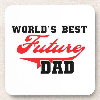 Los mejores regalos futuros del papá del mundo posavasos