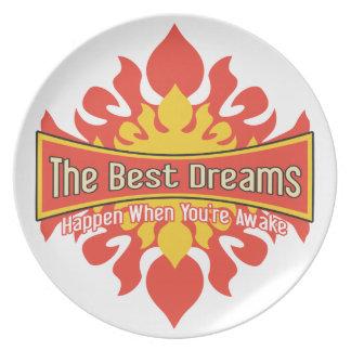 Los mejores sueños plato