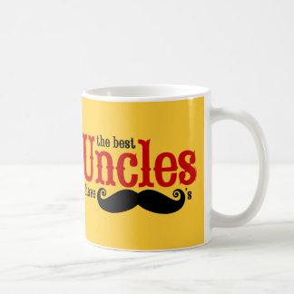Los mejores tíos tienen bigotes taza de café