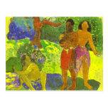 """""""Los mensajeros de Oro - la postal de Paul Gauguin"""